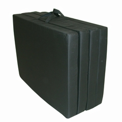 "Foam Furniture Adult Quad-Fold Hide-A-Mat Full 54"" in Black - 32-5940-601"