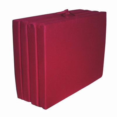 Foam Furniture Adult Quad-Fold Hide-A-Mat Queen 60