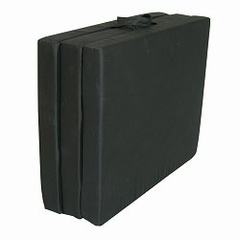 "Foam Furniture Adult Trifold Hide-A-Mat Jr. Twin 31"" in Black - 32-5820-601"