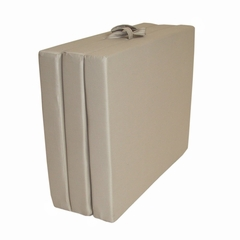 "Foam Furniture Adult Trifold Hide-A-Mat Jr. Twin 31"" in Sand - 32-5820-611"