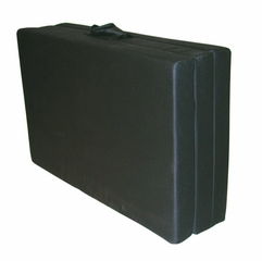"Foam Furniture Adult Trifold Hide-A-Mat Twin 39"" in Black - 32-5830-601"