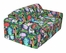 "Foam Furniture Kids Sofa Sleeper Twin 38"" in Jungle - 32-4200-807"