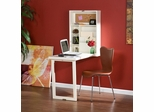 Fold-out Convertible Desk- Winter White - Holly and Martin