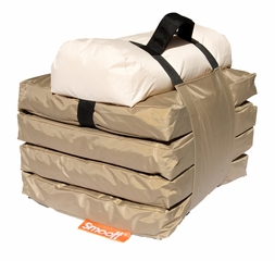 Foldable Lounge Mattress - SMOOFF Active - Cool Beige - SML20105CB