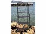 Folding Baker's Rack - Black - Pangaea Home and Garden Furniture - FM-C4705-K