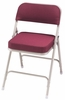 Folding Chair - 2 Inch Thick Padded Folding Chair (Set of 2) - National Public Seating - 3200