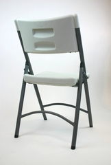 Folding Chair - Blow Molded Folding Chair (Set of 4) in White - ACT1100-SET