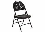 Folding Chair - Fan Back Polypropylene Folding Chair (Set of 4) - National Public Seating - 1100