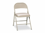 Folding Chair - Light Beige - HONFC02LBG