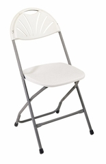 Folding Chair - Plastic Chair (4 Pack) - Office Star - PC54
