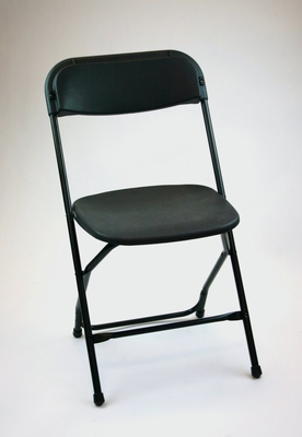 Folding Chair - Plastic Folding Chair (Set of 8) in Black - ACT1000BLACK-SET