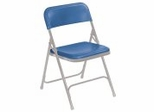 Folding Chair - Premium Lightweight Folding Chair (Set of 4) - National Public Seating - 800