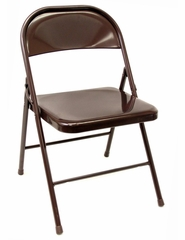 Folding Chair (Set of 4) - Steel Folding Chair - 8050-SET