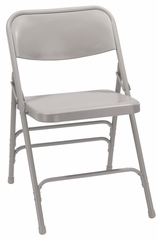 Folding Chair - Triple Brace Steel Folding Chair (Set of 4) - National Public Seating - 300