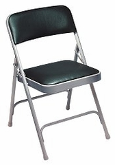 Folding Chair - Upholstered Vinyl Folding Chair (Set of 4) - National Public Seating - 1200