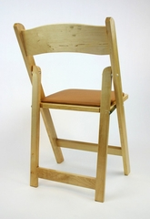 Folding Chair - Wood Wedding Folding Chair (Set of 4) in Natural - ACTW6000NATURAL-SET