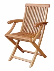 Folding Java Arm Chair - 51064P