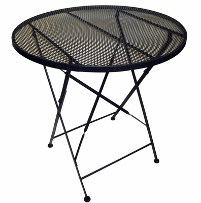 Folding Patio Table Mesh Top - Pangaea Home and Garden Furniture - BT-L034TBL-K