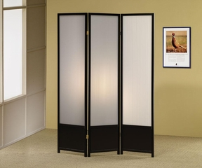 Folding Screen in Black - 900120