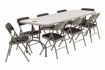 Folding Table and Chairs Package 4 - National Public Seating