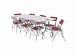 Folding Table and Chairs Package 5 - National Public Seating