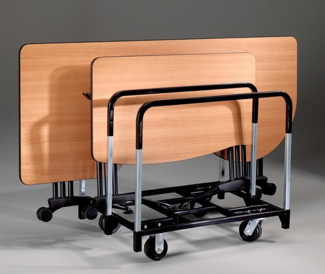 Folding Table Cart - Mayline Office Furniture - 1020FTCBLK