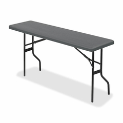 Folding Table - Charcoal - ICE65367