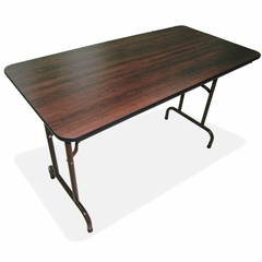 Folding Table - Mahogany - LLR65755
