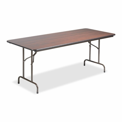Folding Table - Mahogany - LLR65757