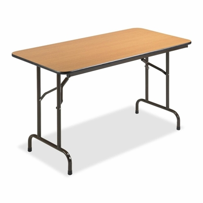 Folding Table - Mahogany - LLR65759