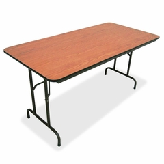 Folding Table - Medium Oak - LLR65756