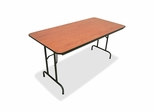 Folding Table - Medium Oak - LLR65758