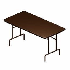 Folding Table - Walnut/Brown - BSXFTD3060WBRN