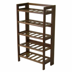 Folding Wine Rack - Winsome Trading - 94521