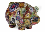 Folkart Piggy Bank - IMAX - 18922
