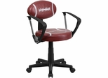 Football Task Chair - BT-6181-FOOT-A-GG