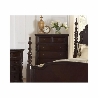 Fox Run 5 Drawer Chest Chocolate - Largo - LARGO-ST-B2370-30