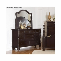 Fox Run 7 Drawer Dresser Chocolate - Largo - LARGO-WG-B2370-10