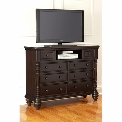 Fox Run HD TV Media Chest Chocolate - Largo - LARGO-ST-B2370-28