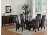Foxborough 9-Piece Dining Room Furniture Set in Cherry - Coaster - 102240-5-DSET