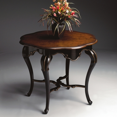 Foyer Table in Cafe Noir - Butler Furniture - BT-1682104