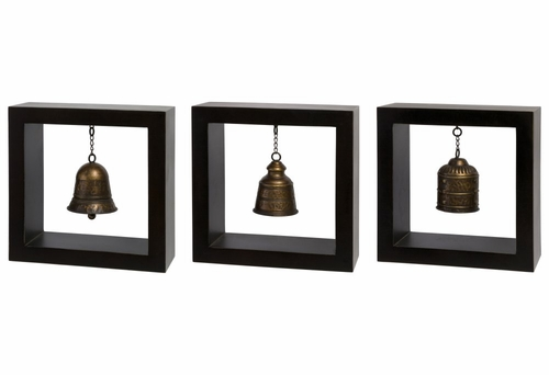 Framed Bells (Set of 3) - IMAX - 1375-3