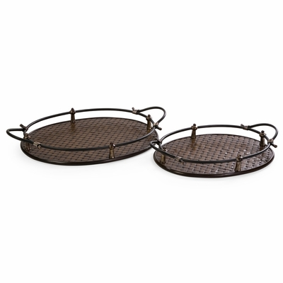 Frasier Trays (Set of 2) - IMAX - 87117-2