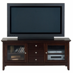 "Fresno Merlot 56"" TV Stand with 2 Doors - 040-9"