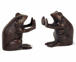 Frog Bookends (Set of 2) - IMAX - 60027-2