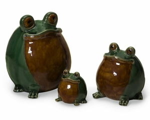 Frog Family (Set of 3) - IMAX - 11003-3