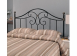 Full / Queen Black Metal Headboard - 300182QF