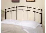 Full/Queen Black Metal Headboard - 300190QF