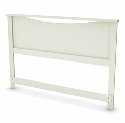 "Full/Queen Headboard (54/60"") in pure White - Step One - South Shore Furniture - 3160270"