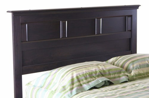 Full / Queen Size Headboard in Ebony - South Shore Furniture - 3877256